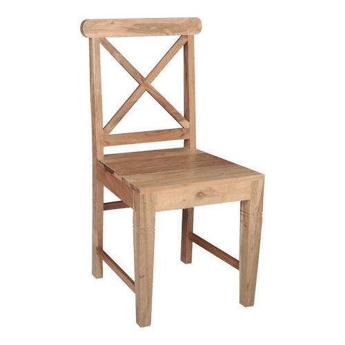 Picture of ( Σετ  2  τμχ. ) Καρέκλα Kika Wood  EA7024