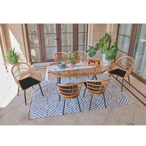 Picture of SALSA Dining Set  7tem.  E280,S