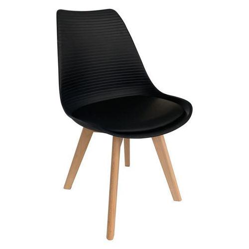 Picture of ( Σετ  4  τμχ.)  Καρέκλα Martin Stripe PU  EM136,24S