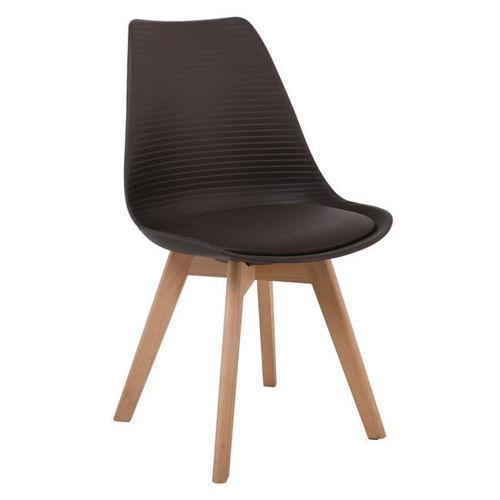 Picture of ( Σετ   4 τμχ. ) Καρέκλα Martin Stripe PU  EM136,01S