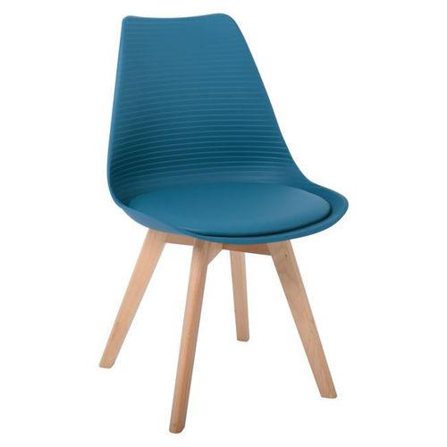 Picture of ( Σετ   4  τμχ. ) Καρέκλα Martin Stripe PU  EM136,03S